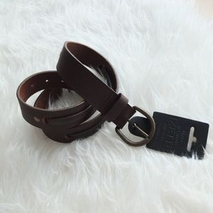 Other - Full Grain Brown Leather Belt
